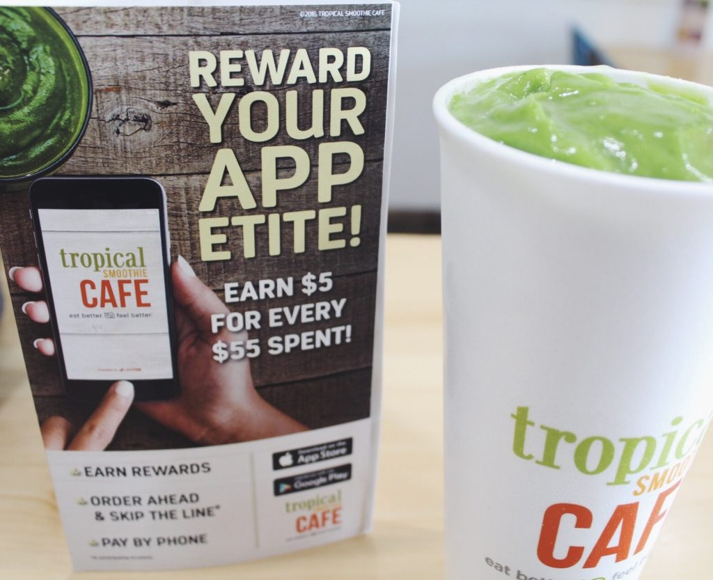 #TampaLove ::: Tropical Smoothie Cafe