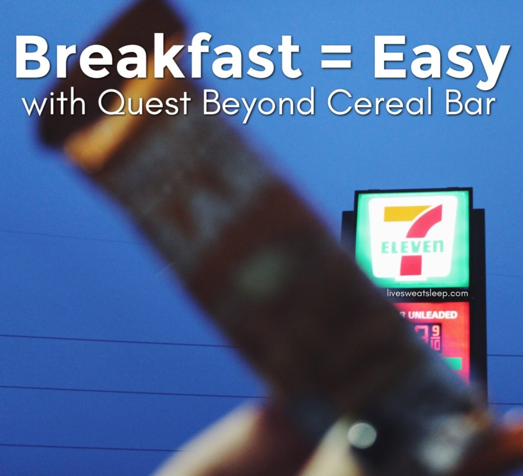 Breakfast = Easy ::: Quest Beyond Cereal Bar #OnAQuest