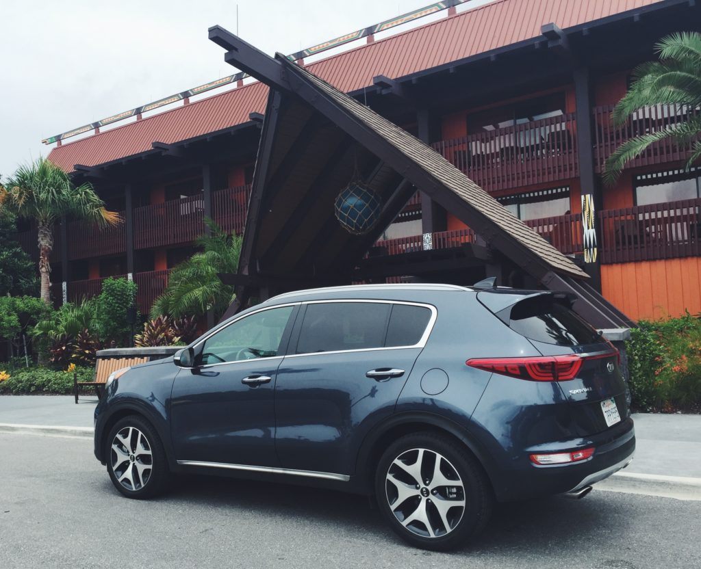 Visit the Polynesian Resort & DriveShop Kia Sportage