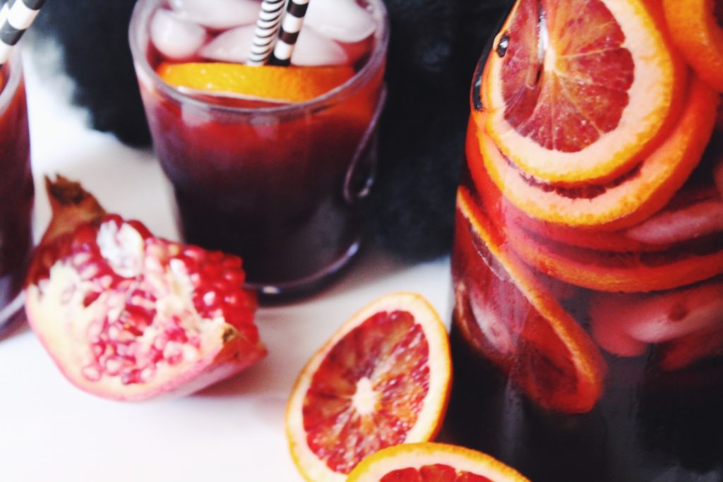 Blood Moon Sangria ::: with Veggie Wash