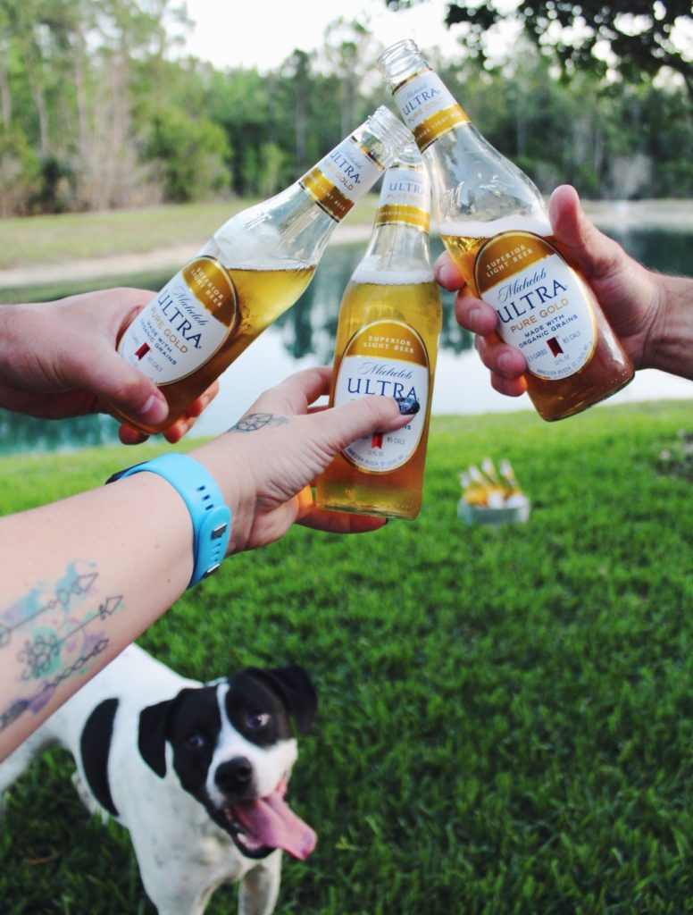 Take it Outside with Michelob ULTRA Pure Gold