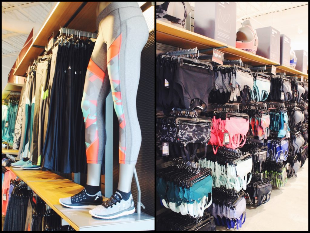 Athleisure with Under Armour: Ellenton Premium Outlets, Simon Center