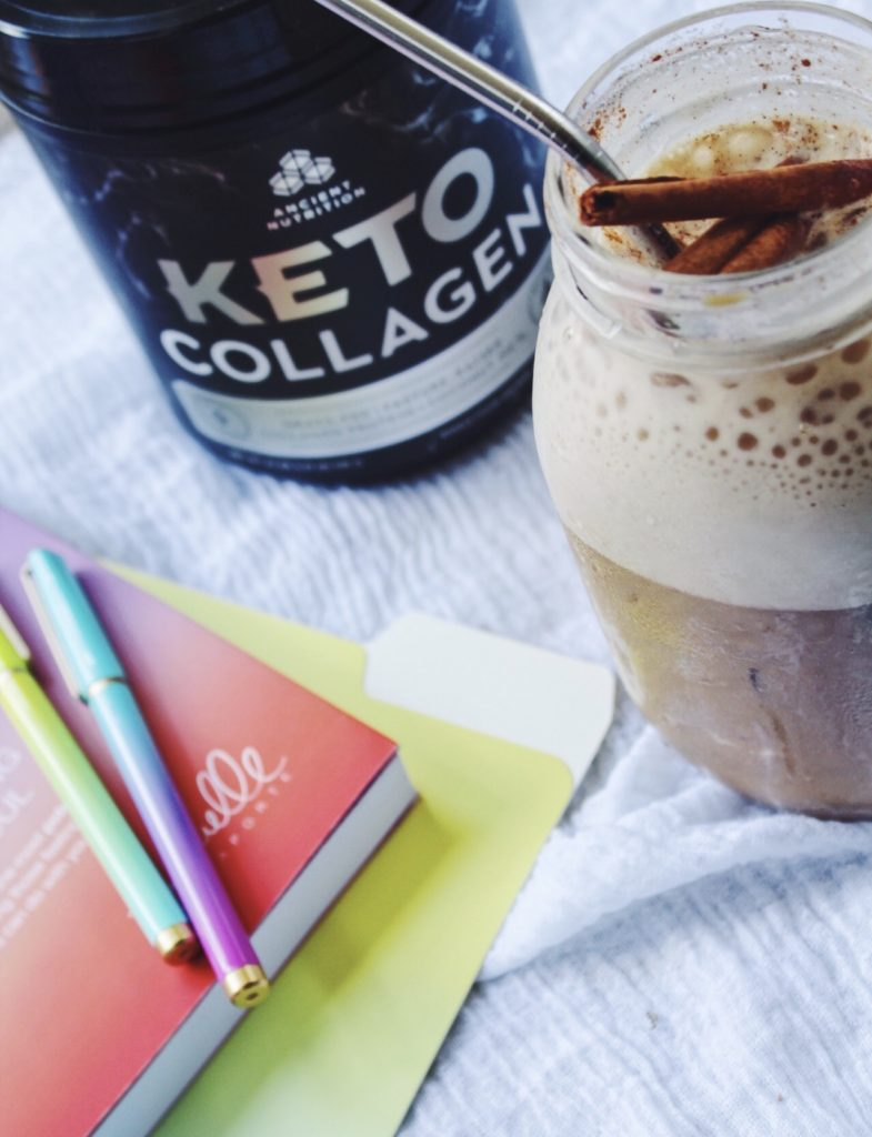Horchata Cold Brew Powered by Keto Collagen #ad #ketorecipe