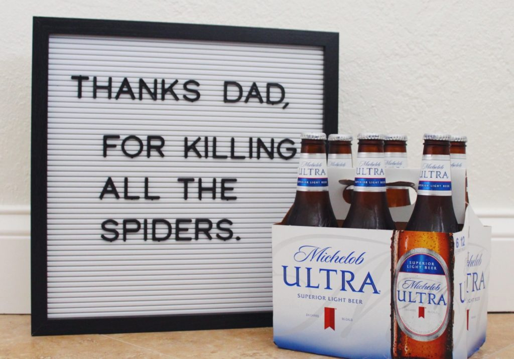 Celebrating #ULTRADad with Michelob ULTRA *sponsored